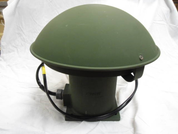 U.S. Military Electric Motor Operated Siren