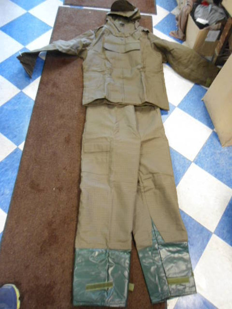 Czech Army Chemical Protective Suit