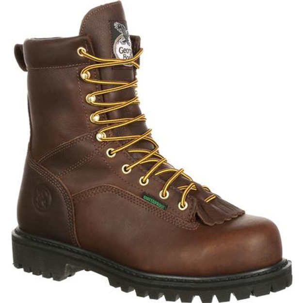 Georgia Boot Men's G8341 Logger Steel Toe Boots