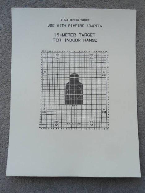 15-Meter Indoor Target (M1GA1 Series)