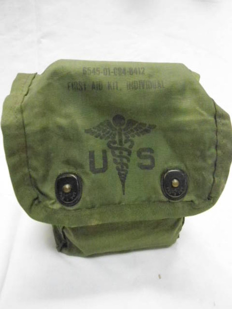 U.S. Military No. 8 Medical Set Case (empty)