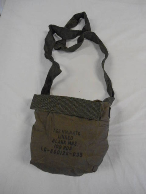 U.S. Army 7.62mm 100 Round Pouch