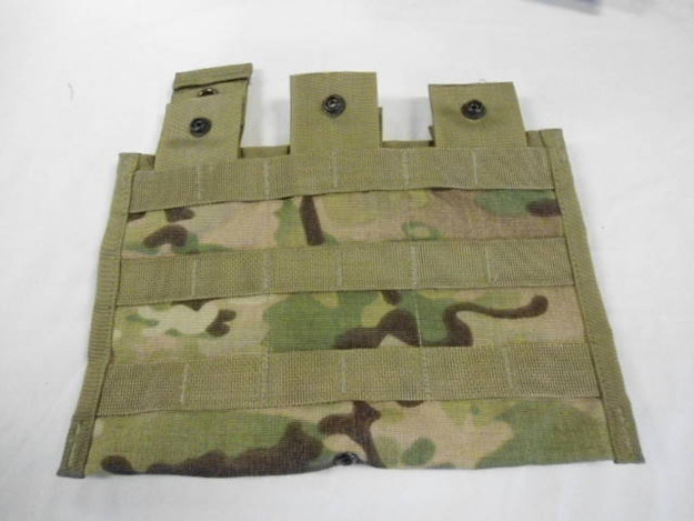 U.S. Army Multicam Triple Magazine Panel