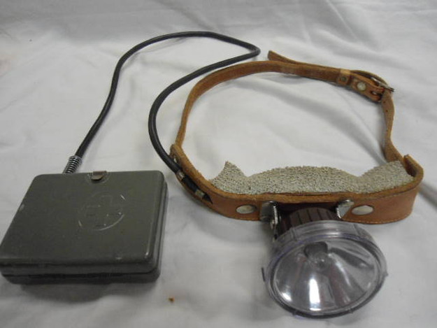 Vintage Swiss Army Headlamp