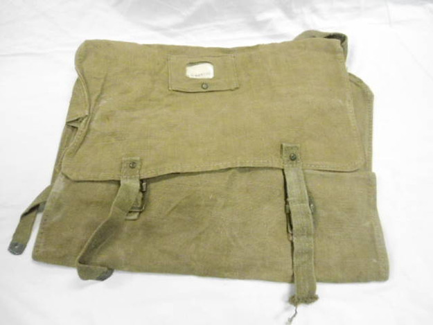 Italian Army Linen/Blanket Backpack
