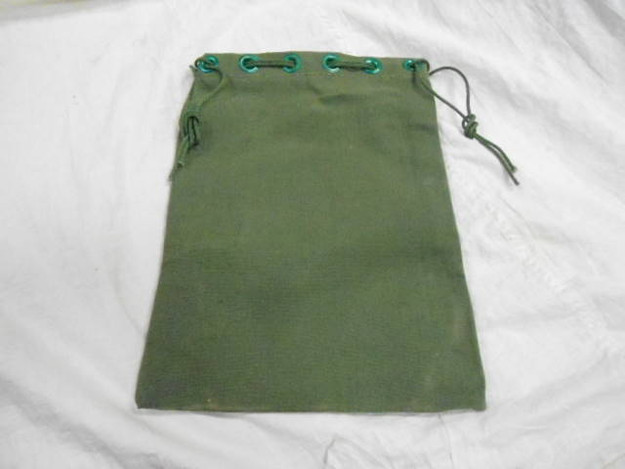 U.S.M.C. Canvas Tent Stake Bag
