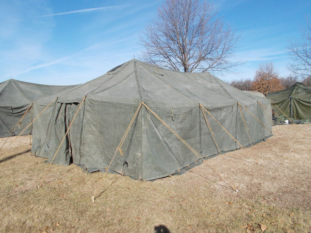 U.S. Military 16′ x 32′ Medium Canvas Tent