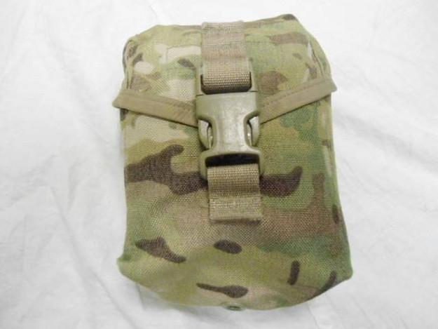 U.S. Army SEKRI Multicam First Aid Pouch (used)