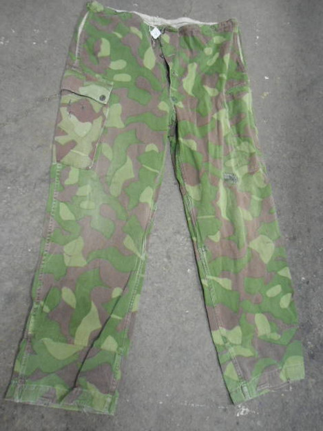 Finnish Army M62 Camouflage Pants