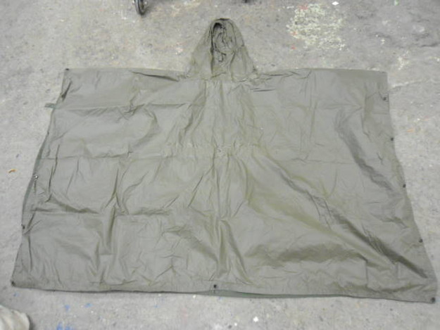 German Army Wet Weather Poncho (used)
