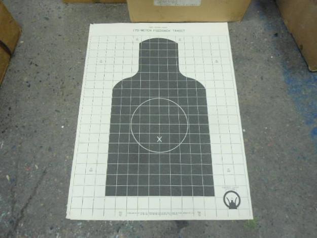U.S. Army M16A1 175 Meter Feedback Target