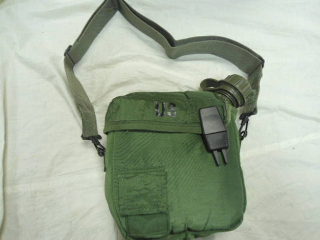 U.S. Military 2 Qt Collapsible Canteen Cover (NEW)