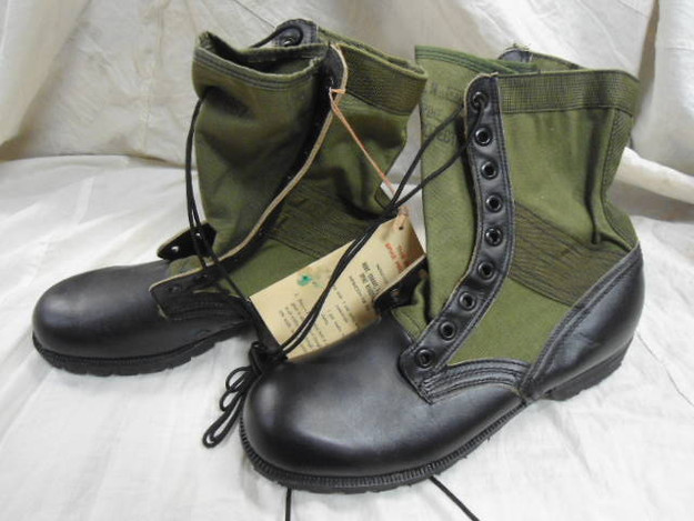 U.S. Military Vietnam War Era Tropical Combat Boots (NEW)