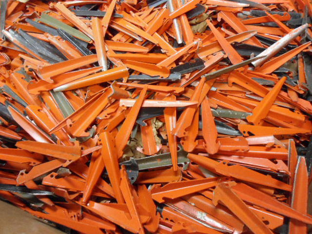 US Military Aluminum Tent Stakes (used)