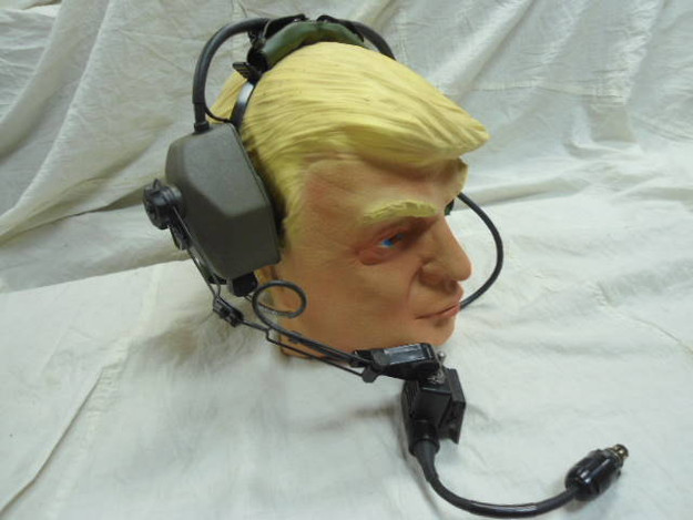 U.S. Military GENTEX Artillery Communications Headset