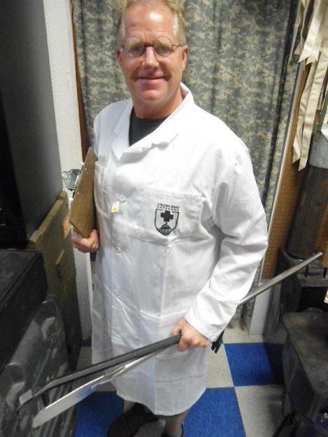 U.S. Army Walter Reed Lab Coat
