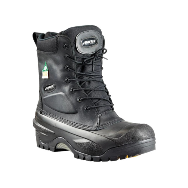Baffin Workhorse boots with safety toe for winter