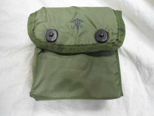 U.S. Military No. 8 Medical Set Case with Insert