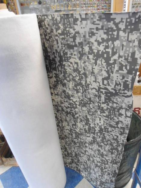 Urban Digital Vinyl Fabric