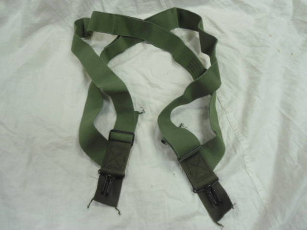 U.S. Military Vintage Trouser Suspenders