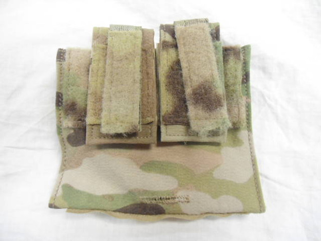 U.S. Military MOLLE ANVS-6 Multicam Battery Packet