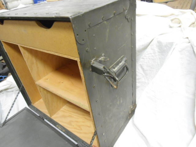 US Military Field Desk (Portable) - open