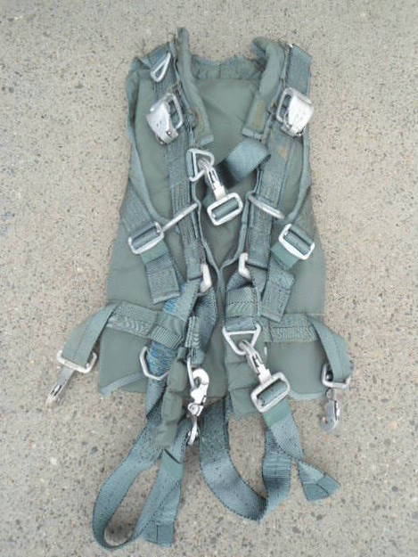 U.S. Military Personnel Parachute Harness