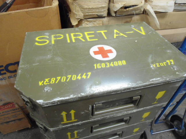 Czech Army 'Spireta-V' Medical Case