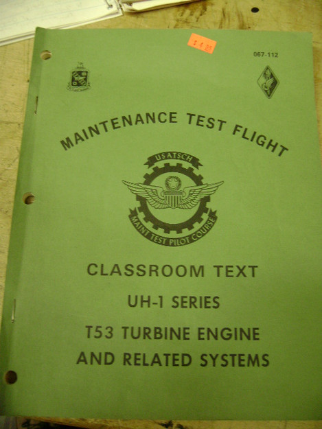 Maintenance Test Flight Classroom Text, UH-1 Series