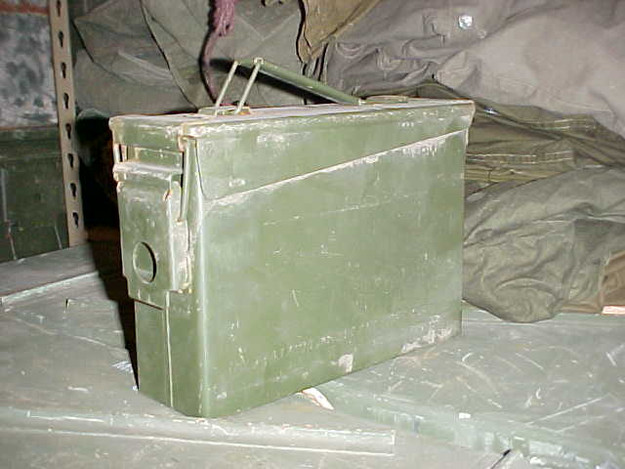 U.S. Military .30 Cal. Ammo Can