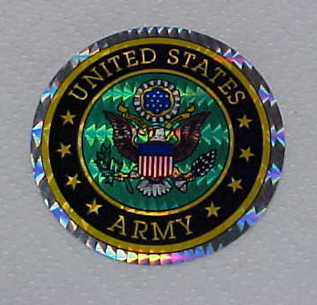 U.S. Army Sticker (3″ dia.)