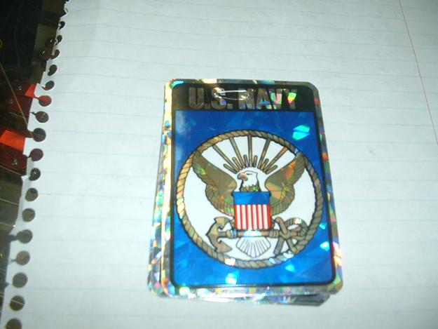 U.S. Navy Sticker (3″ dia.)