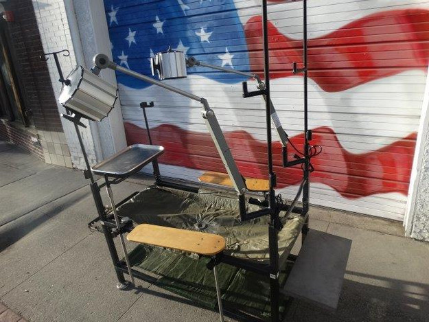 US Military Field Operating Table