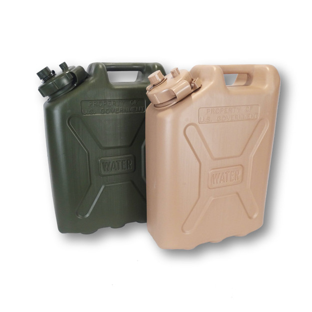 5-Gallon Water Jug for U.S. Military - aka 'Military Water Canister' (MWC)