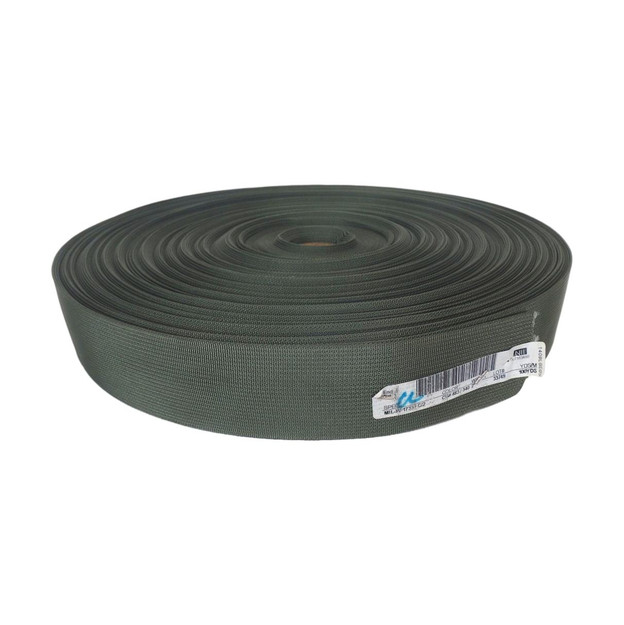 Green Nylon Webbing