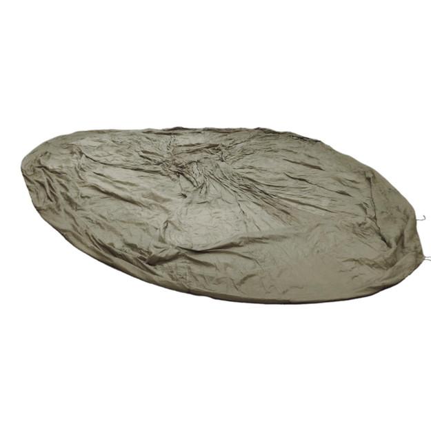French Army 26′ Olive Drab Nylon Parachute