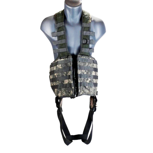 US Army PSGV Vest Harness (ACU) - front