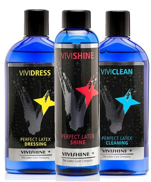 Vivishine 150ml Vividress 250ml Viviclean 250ml