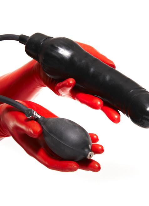 Inflatable Dildo X Large Semi Hard Center