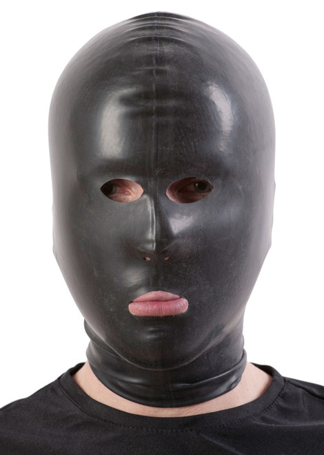 HW Hood with Open Eyes Nose and Mouth