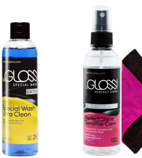 BeGloss Perfect Shine Spray 100ml Special Wash 250ml and Wipe