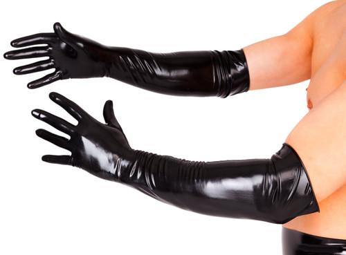 Premium Gloves Elbow Length Thin w