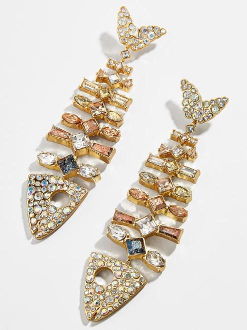 Fish Bone Fashion Earrings