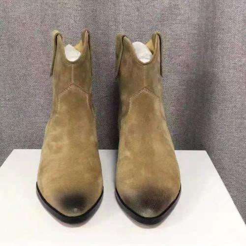 Distressed Cowboy Booties