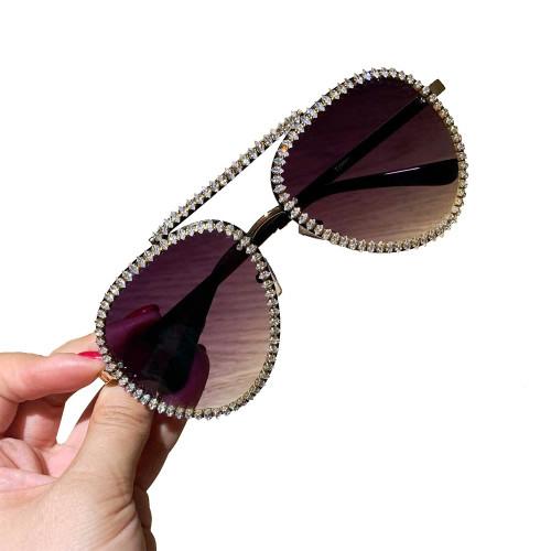 Rhinestone Spectator Sunglasses