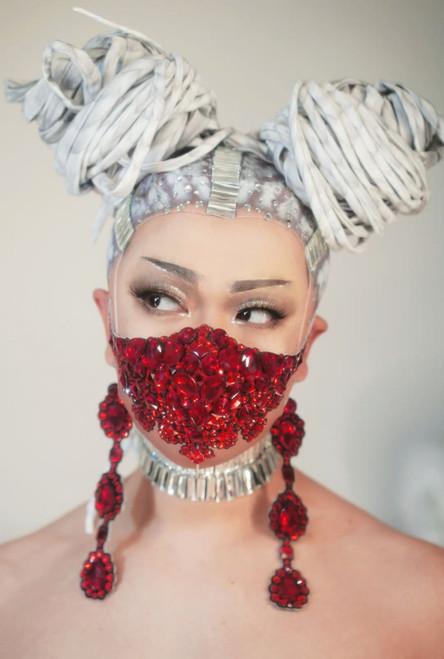 Red Gem Face Mask
