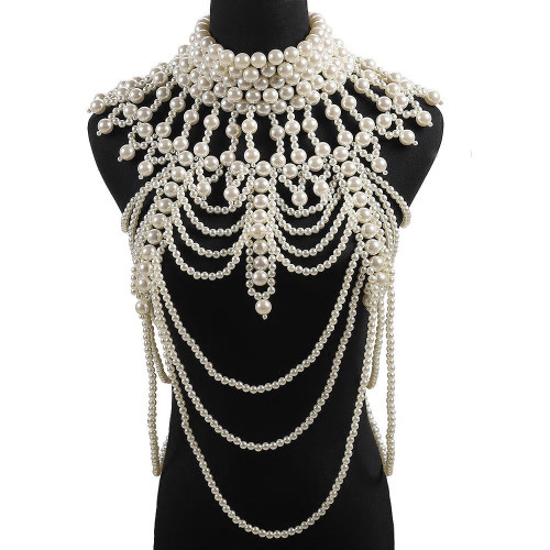 Luxurious Pearl Body Jewelry