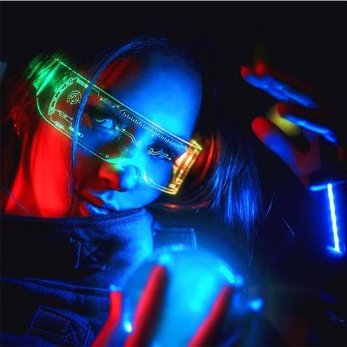 Light up  Chameleon Glasses