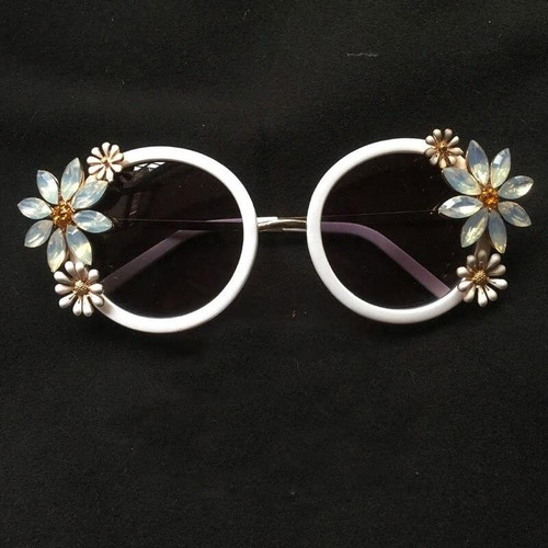 Flower Rhinestone  Goggles