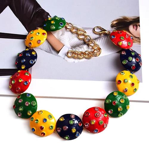 Ladybug Link Necklace